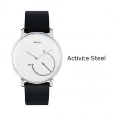Withings Activite Steel Watch Black White