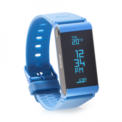 Withings Pulse O2 Activity Tracker Blue