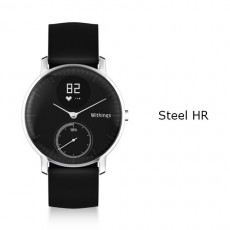 Withings Steel HR Watch 36mm Black