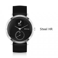 Withings Steel HR Watch 40mm Black