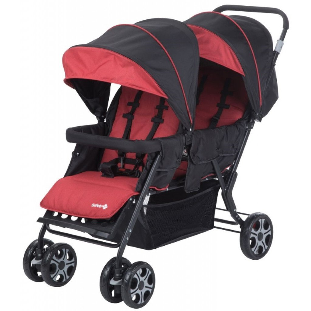 Safety 1st Tandem Teamy Stroller Ribbon Red Chic (1151668000)