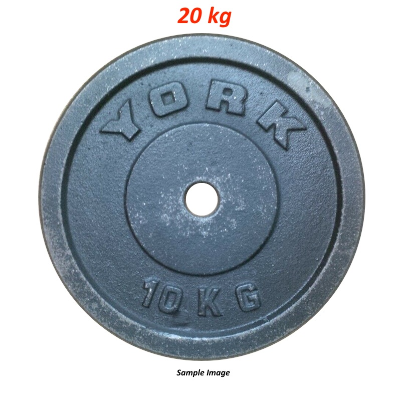 Iron Weight Plates 20 Kg (1 Plate)