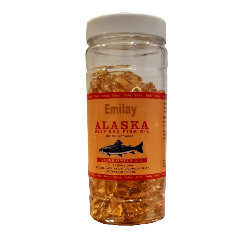 ALASKA Original Omega 3 6 9 Vitamin 200 Softgels of 1000mg