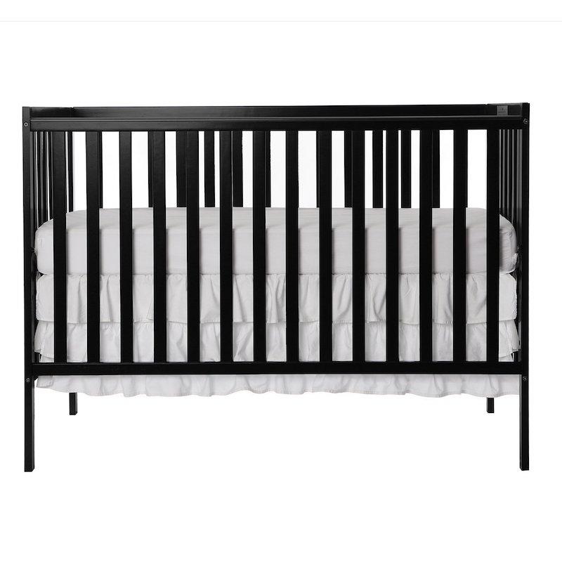 Dream On Me Synergy 5-in-1 Convertible Multipurpose Baby Crib - Black