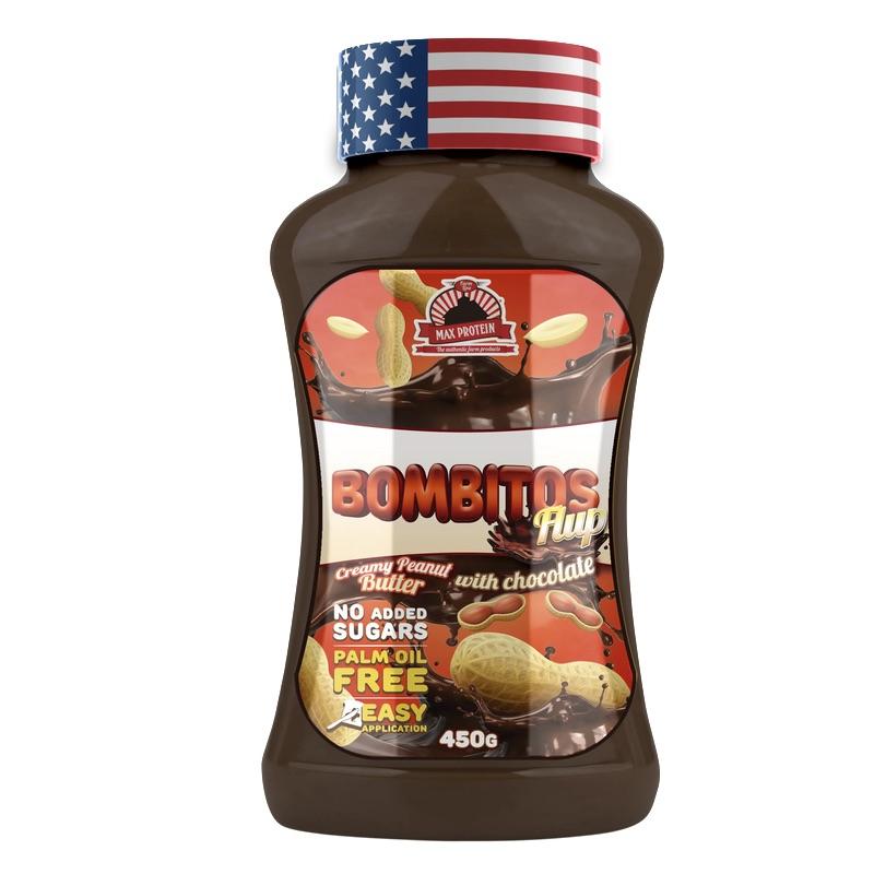 Bombitos Flup Chocolate Peanut Butter - 450 g