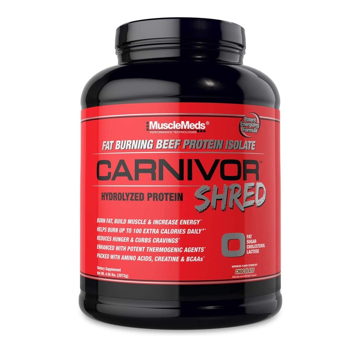 Musclemeds Carnivor Shred Beef Protein Isolate 4 lbs