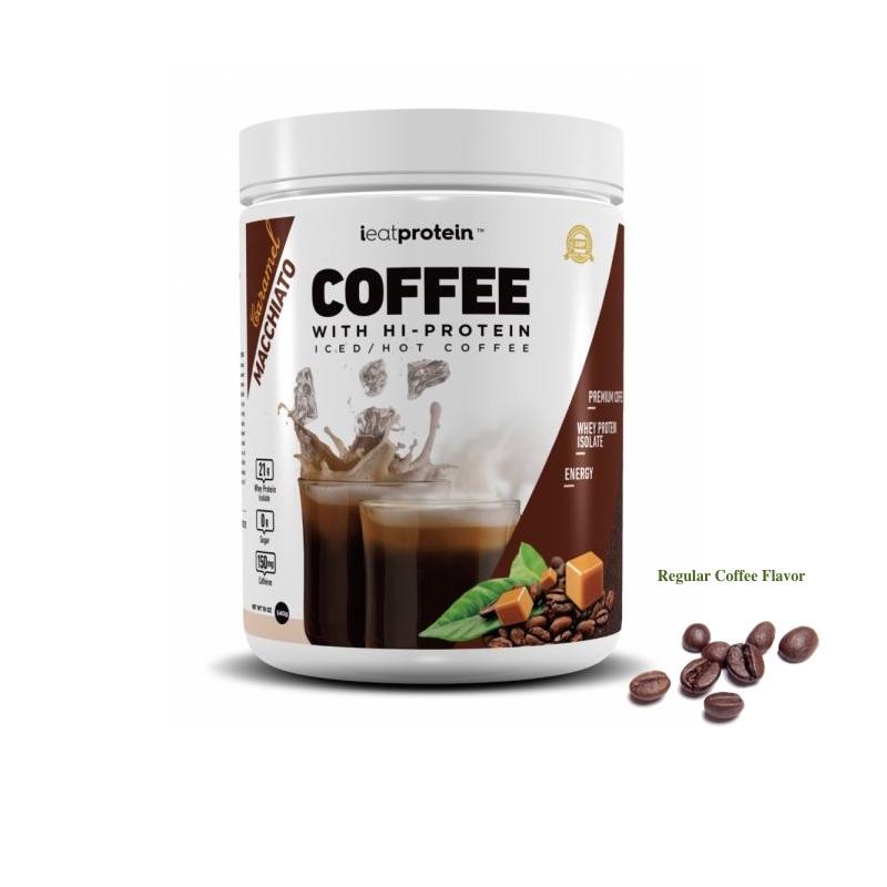 ieatprotein Coffee with Hi-Protein 540g Regular