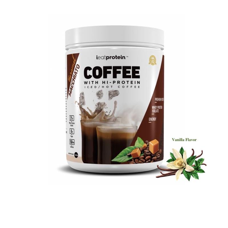 ieatprotein Coffee with Hi-Protein 540g French Vanilla Flavor