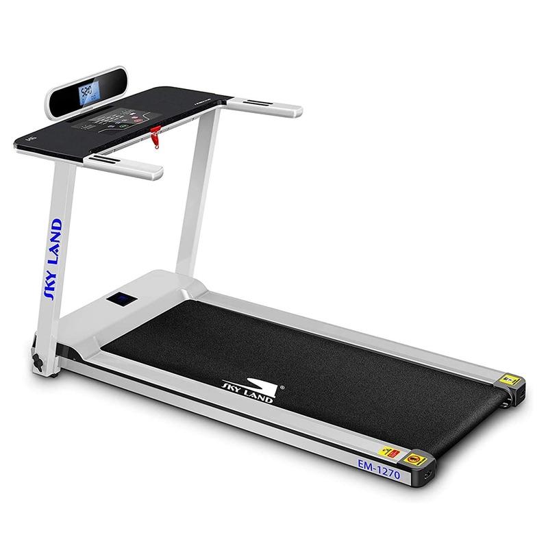Skyland Fully Foldable Home Treadmill White Color EM-1270