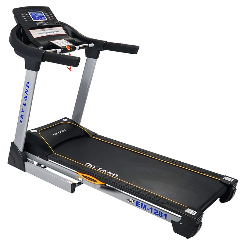 Skyland EM-1281 Treadmill with 3 HP Powerful AC Motor for Heavy User