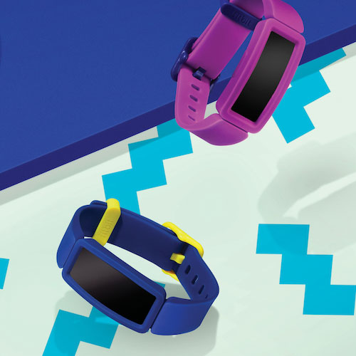 Fitbit Ace 2 Activity Tracker Grape Classic Band for Kids Age 6+