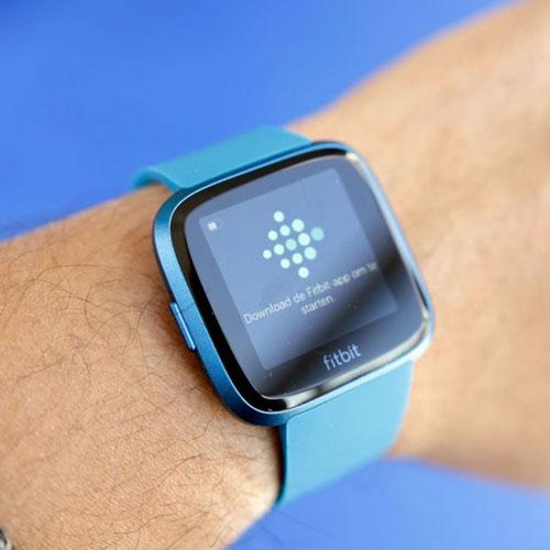 Fitbit Versa Lite Edition Smartwatch Marina Blue Marina