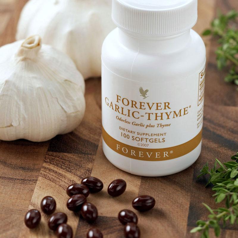 Forever Garlic-Thyme fokhagymakapszula db - NaturTéka webáruház
