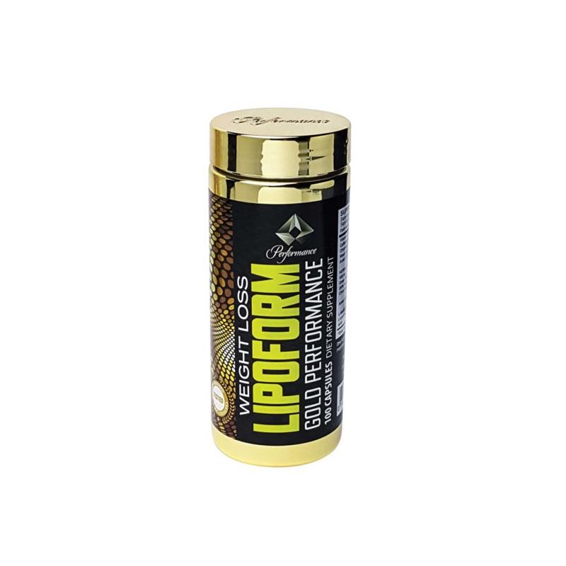 Gold Performance Lipo Form - 100 Caps