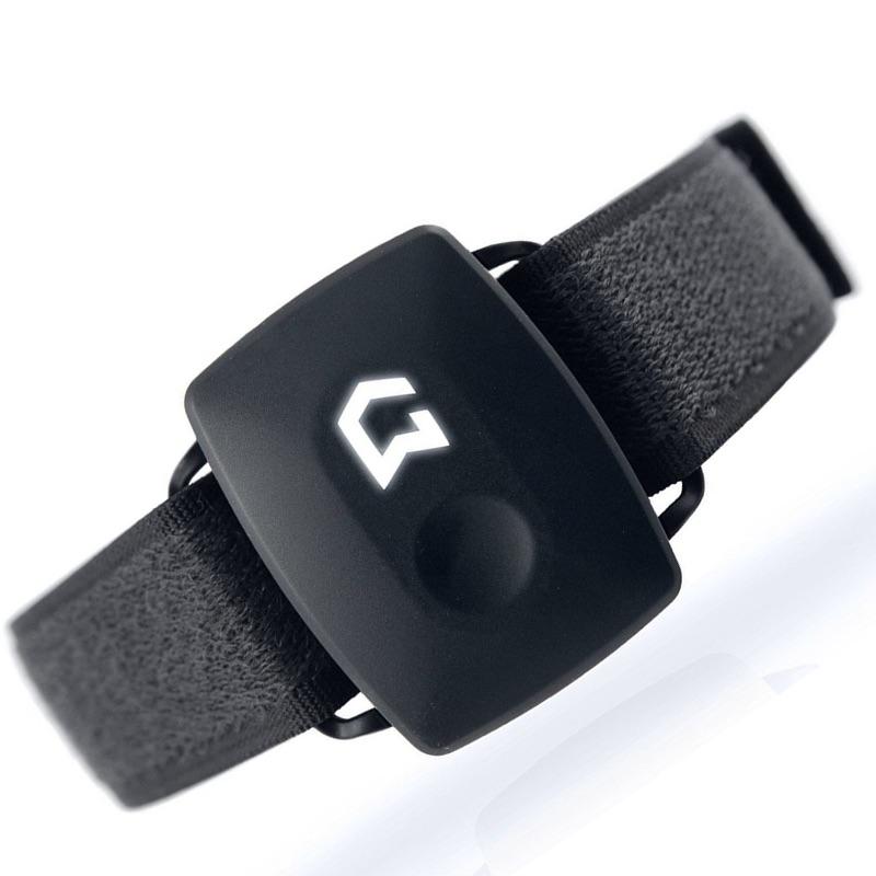 Gymwatch Sensor Fitness Tracker-Coal Black