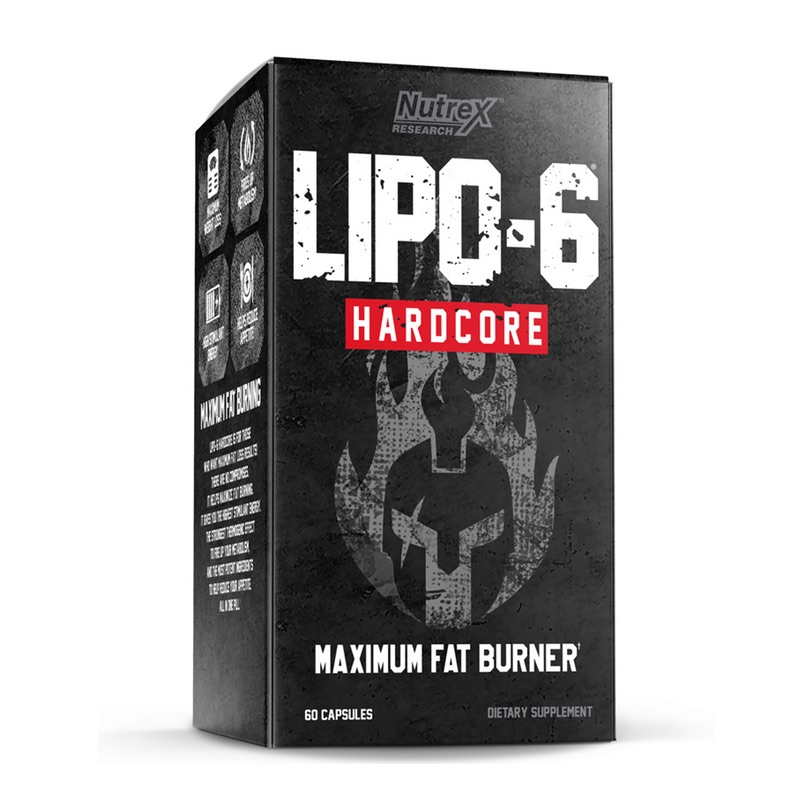 Nutrex Lipo 6 Hard Core Weight Loss Capsules