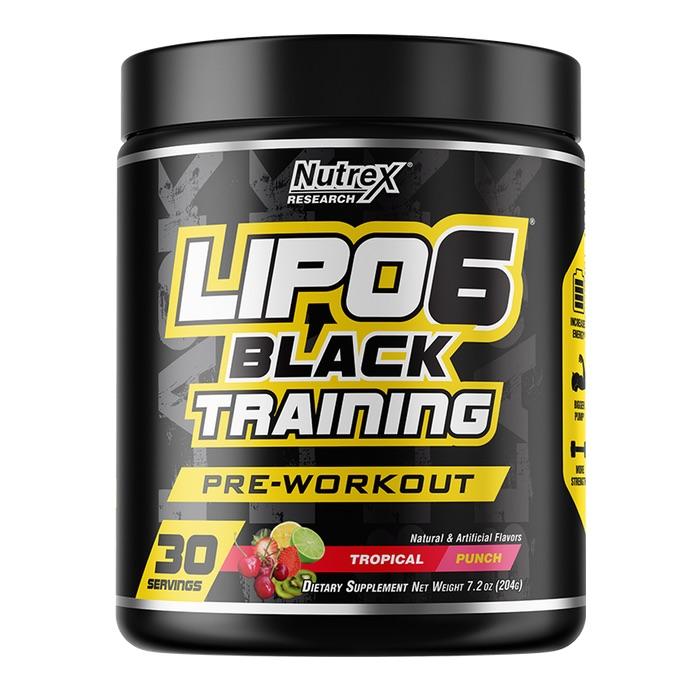 Nutrex Lipo 6 Black Training Intense Stimulant Pre-Workout