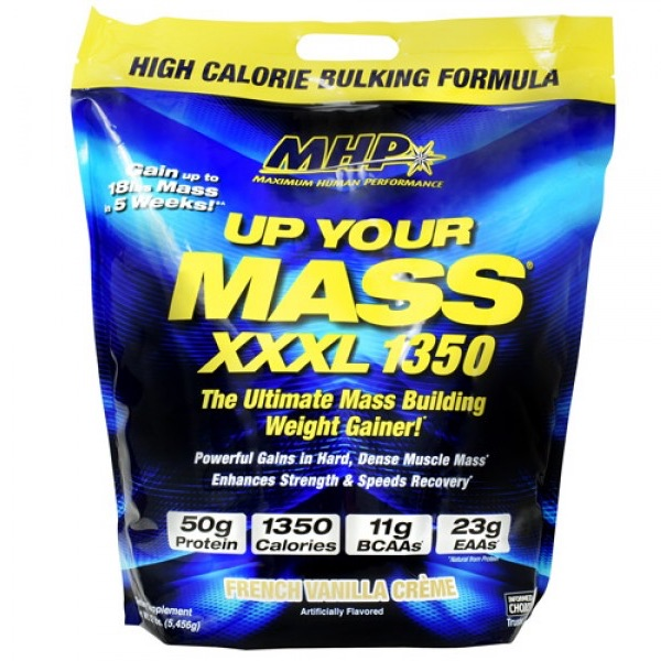 MHP Up Your Mass XXXL 1350 - 12 Lbs Bag