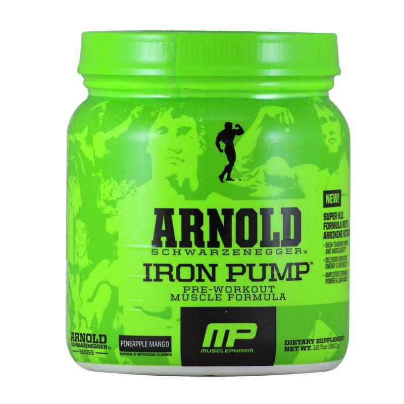 Muscle Pharm Pre Workout Iron Pump 30 SERV