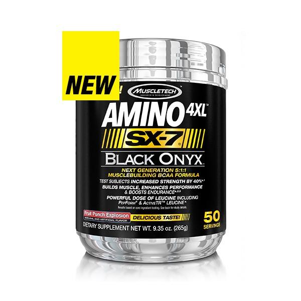 Muscletech Black Onyx Amino 4XL - SX7, 50 Servings