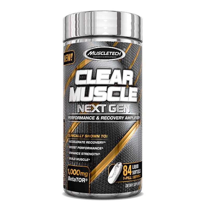 Muscletech Clear Muscle 84 Softgel