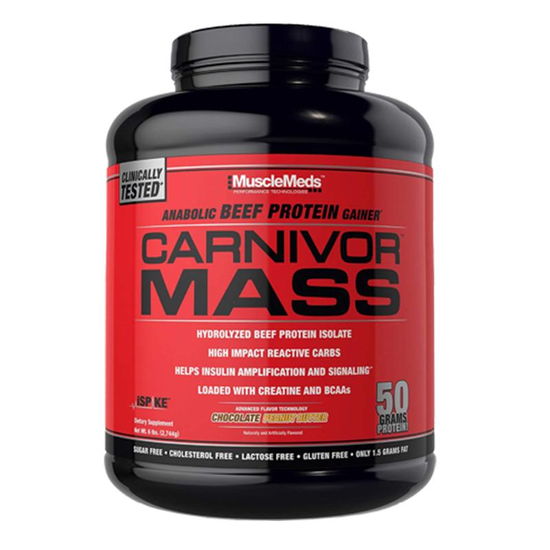 Muscle Meds Carnivor Mass 6 Lbs