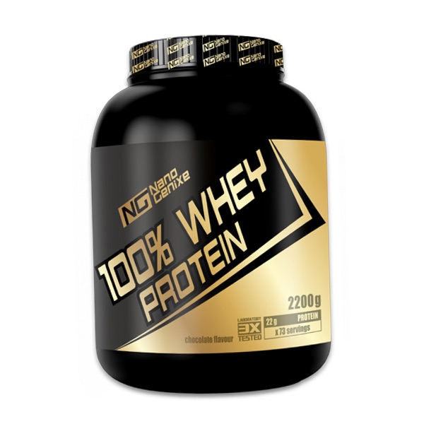 Nano Genixe 100% Whey Protein 2200g