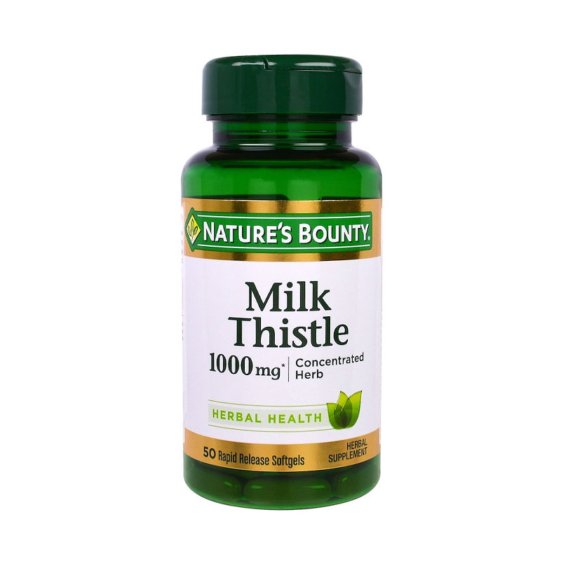 Natures Bounty Milk Thistle 1000mg (50 Tabs)
