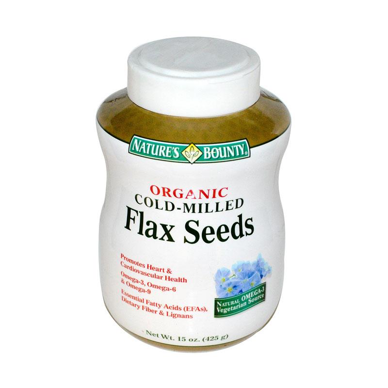 Natures Bounty Organic Flax Seeds (15 Oz)