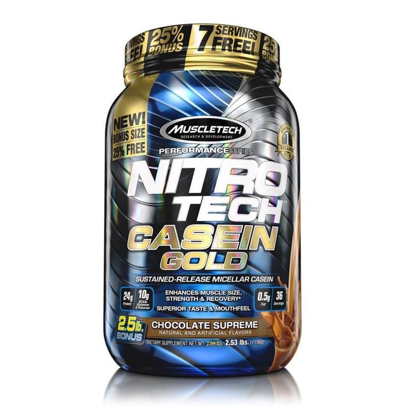 Muscletech Nitrotech Casein Gold 5 lbs