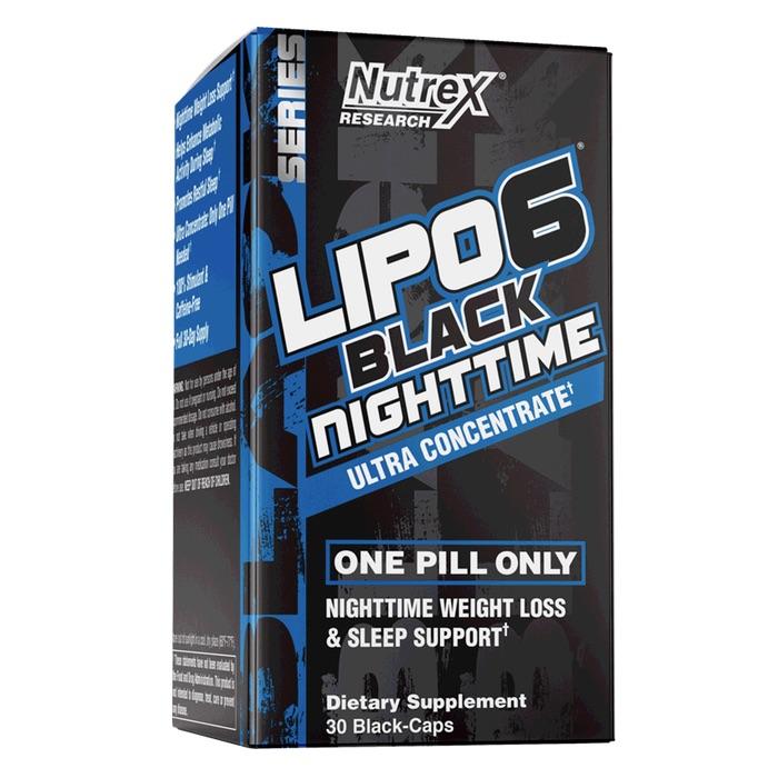 Nutrex LIPO-6 Black Night TIme