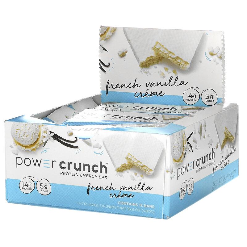 Power Crunch Protein Bar Original French Vanilla 40 g 1x12