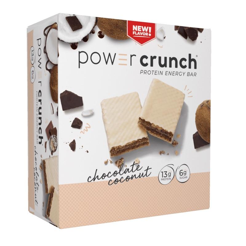 Power Crunch Original Chocolate Coconut 40 g 12 Bars