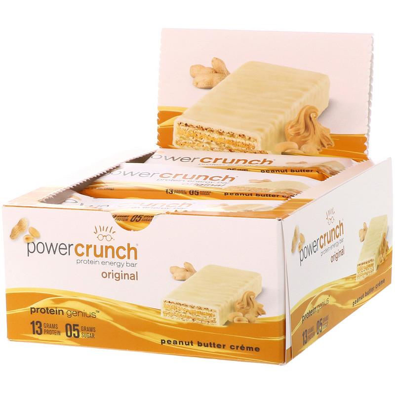 Power Crunch Protein Bar Original Peanut Butter 40 g 1x12