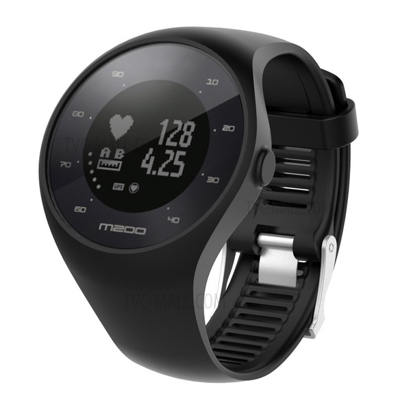 Polar M200 Black GPS Running Watch with Wrist-Based Heart Rate