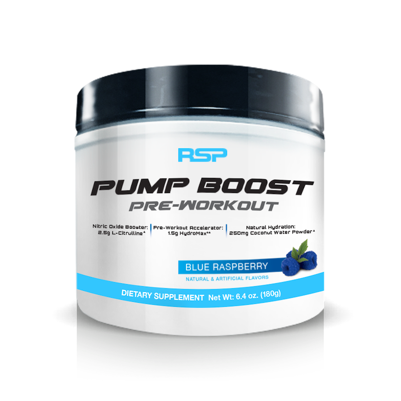RSP Pre Workout PUMP Boost (Without Caffeine)