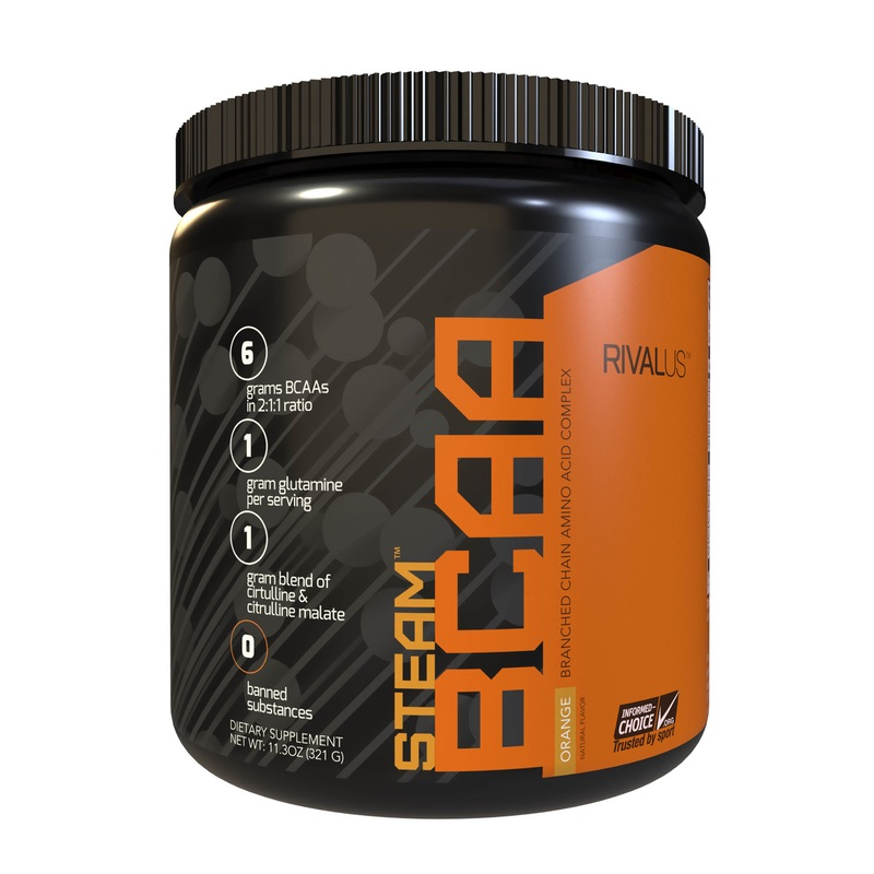 RivalUS Steam BCAA Intra Workout Amino 309g