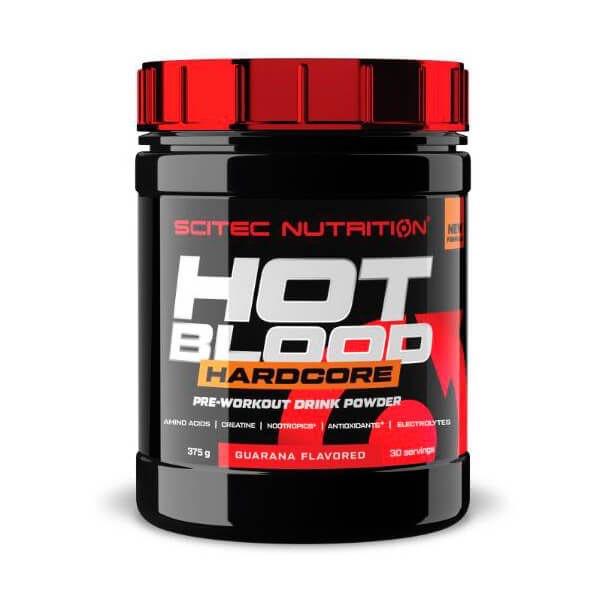 Scitec Nutrition Hot Blood Hardocre Pre Workout 375 g