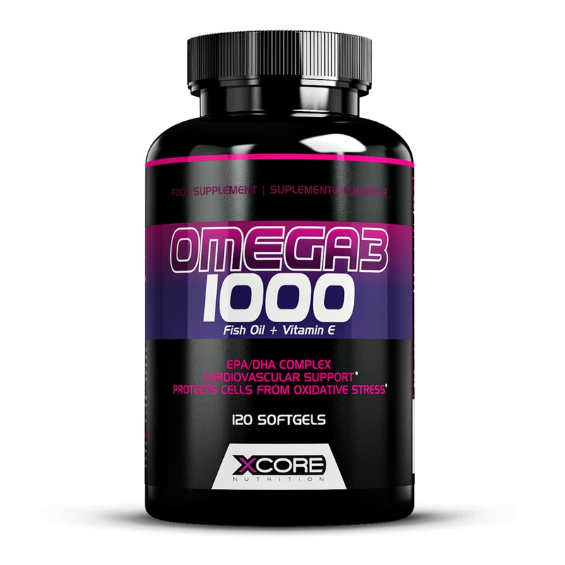 X Core Omega 3 1000 - 120 Serv
