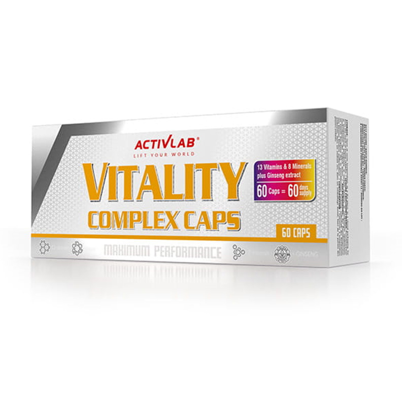 ACTIVLAB Vitality Complex 6 x 10 Caps