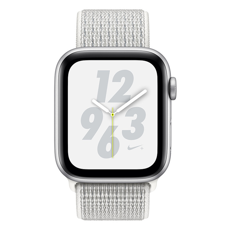 Buy Apple Watch Nike+ Series 4 44mm GPS Silver Aluminum Case with