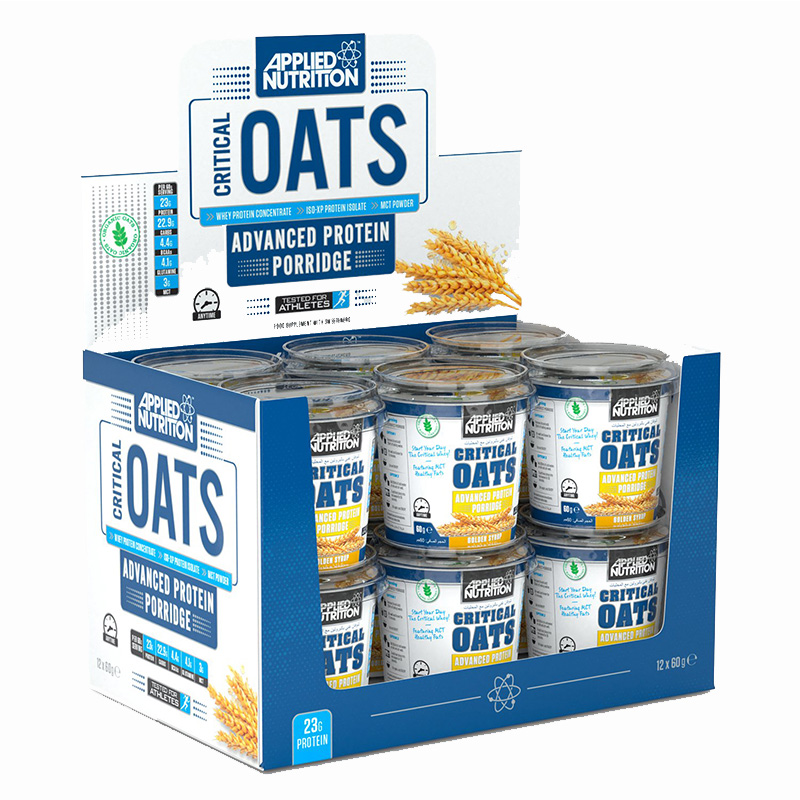 Applied Nutrition Critical Oats Golden Syrup Flavor 1x12