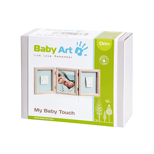 1630ce43 ... Baby Art My Baby Touch Double print frame - Stormy Best Price in UAE