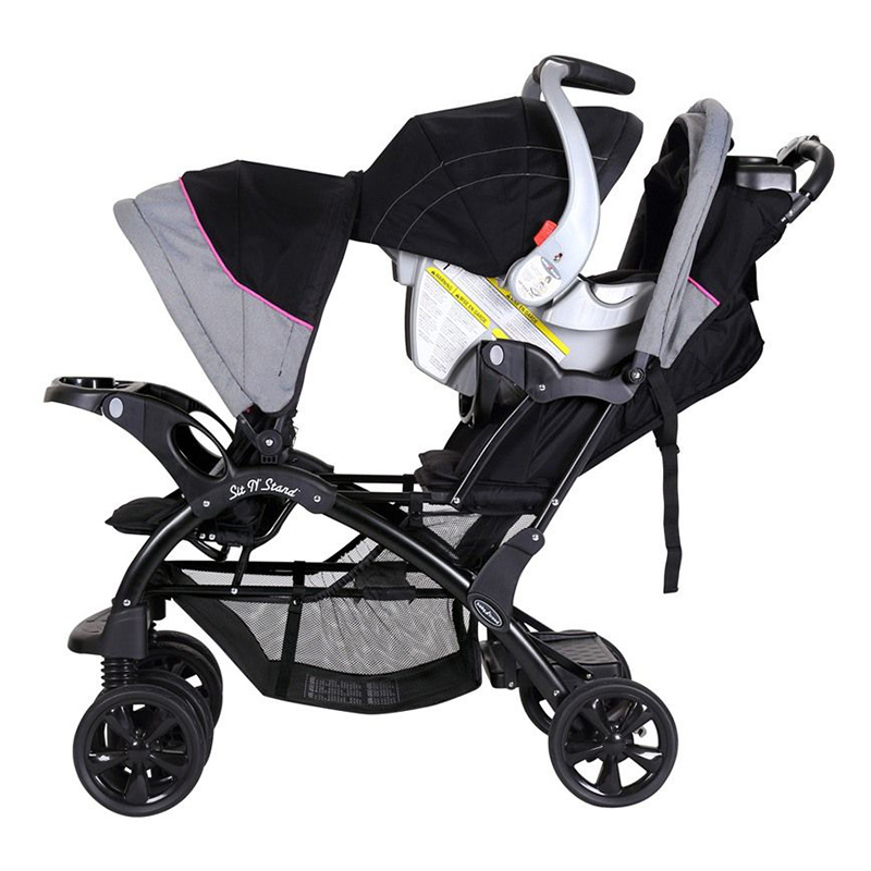 Buy Baby Trend Sit N Stand Double Stroller In Dubai Abu Dhabi