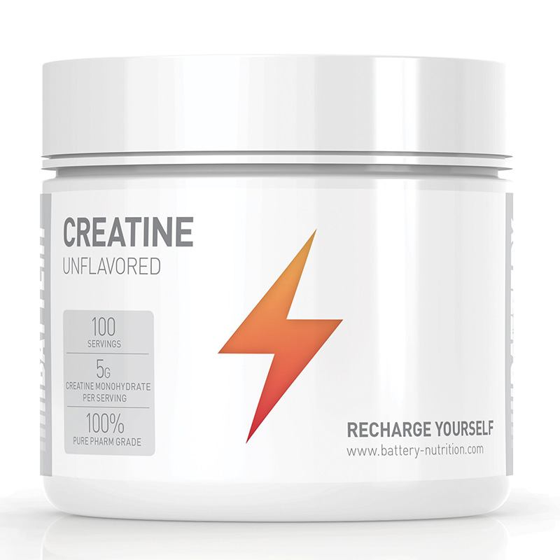 Battery Creatine 500G Unflavored