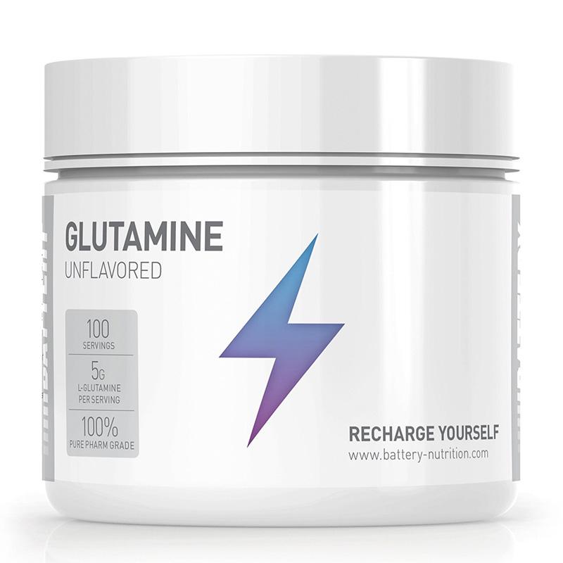 Battery Glutamine 500G Unflavored