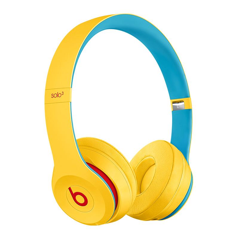 Beats Solo 3 Wireless Headphone Club Yellow