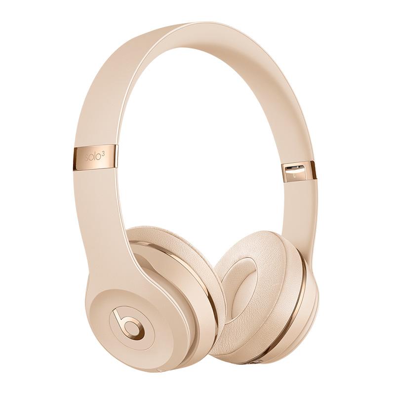 Beats Solo 3 Wireless Headphone Satin Gold