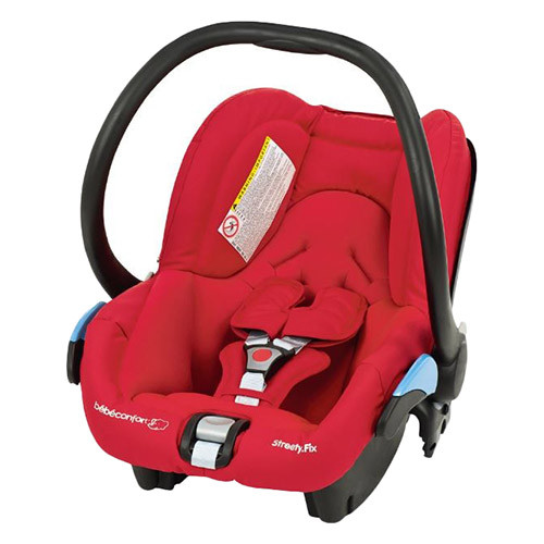 Bebe Comfort Streetyfix Car seat Intense Red
