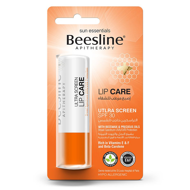 Beesline Lip Care Ultra Screen + Spf 30